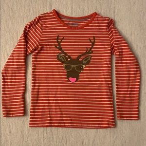 Mini Boden Long Sleeve Top Size 5/6